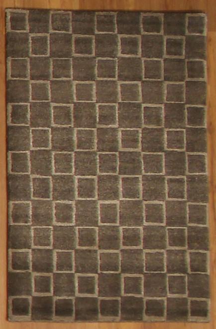 2' x 3' Handmade Tibetan Cube Rug (3)