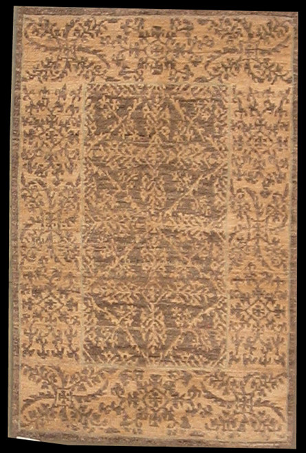 2'1 x 3'2 Handmade Tibetan 100 Knot