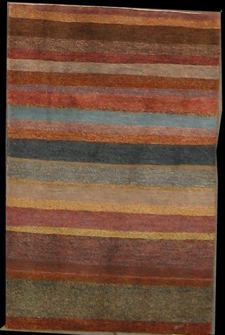 2' x 3'2 Handmade Tibetan 100 Knot