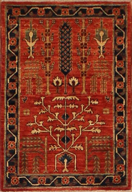 2'1 x 3' Handmade Afghan-2