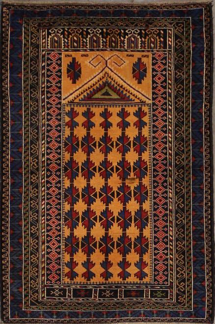 2'10 x 4'4 Afghan Baluch