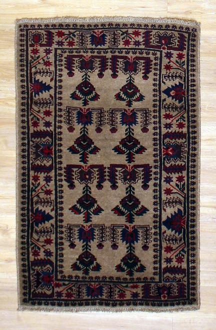 2'11 x 4'6 Afghan Baluch