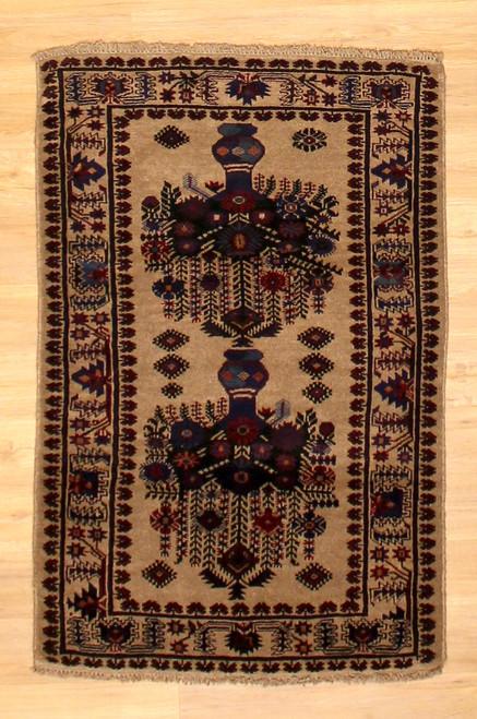 3' x 4'8 Afghan Baluch