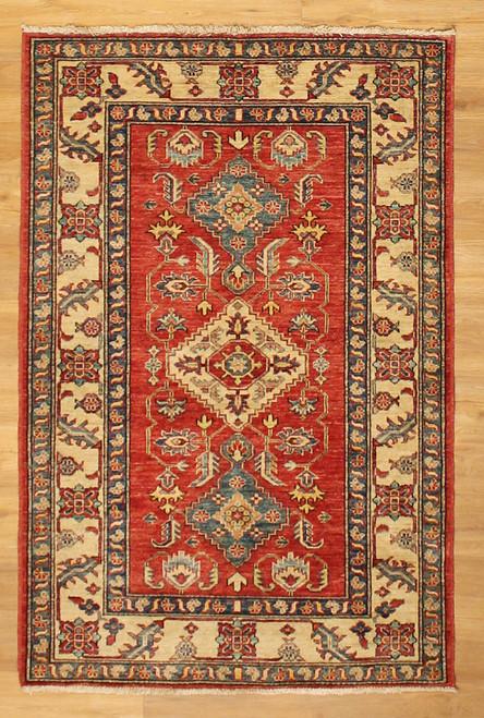 3'6 x 5'3 fine Caucasian design rug