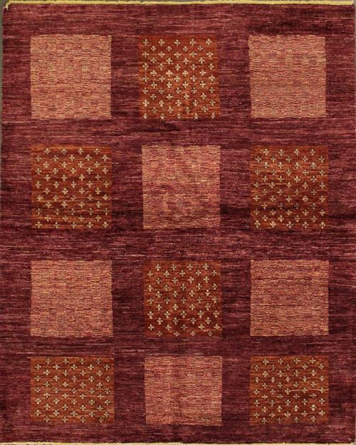 5' x 7' Afghan Gabbeh rug