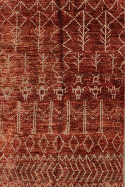 "5'5"" x 8' Indian Jute rug"