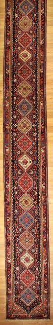2'8 x 25'6 Long Persian Yalameh Runner