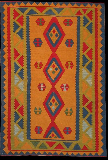 Persian Qashqi Kilim 3'3 X 4'10