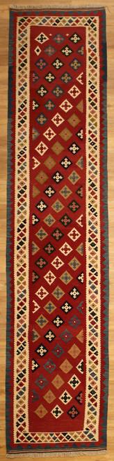 Persian kilim runner 2'10 X 12'8