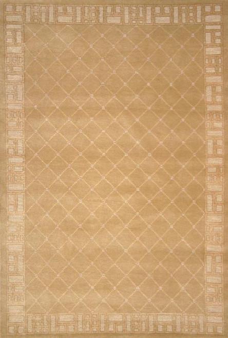 Modern design Nepalese rug 4' x 6'