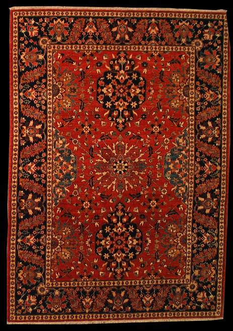 5'1 X 7'1 Traditional design rug