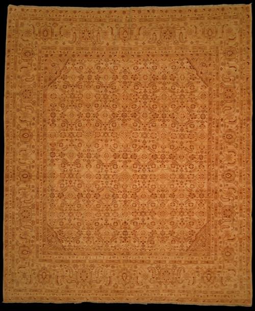 8'2 X 9'8 Earth tones color rug