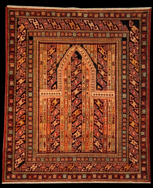 5'2 X 6'3 prayer design rug