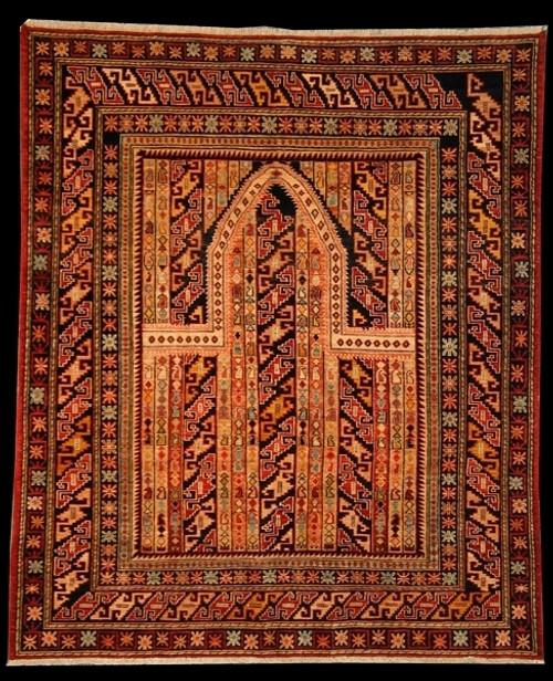 5'2 X 6'3 prayer design rug