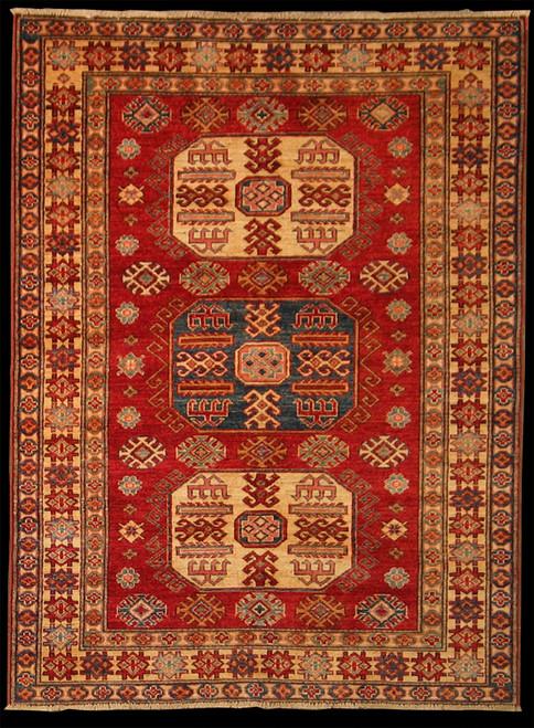 4'2 X 5'7 Afghan Caucasian Kazak