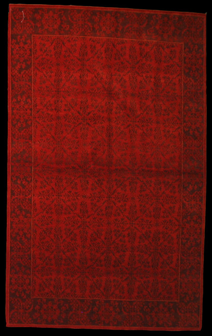 Modern design rug made in Nepal