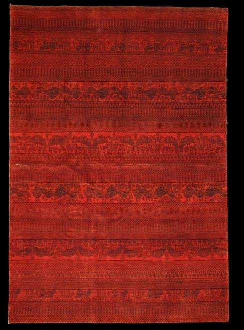 contemporary design rug made in India.