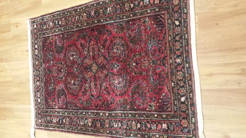 Antique Persian Daragzin 3.6 X 5.1