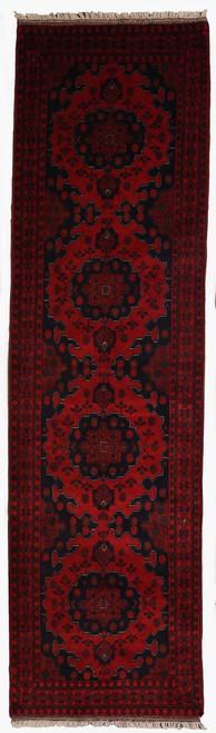 2'9 X 9'9 Afghan Khalmohammadi Rug