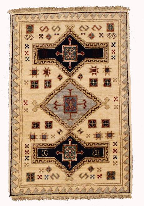 2' x 3' Afghan Caucasian