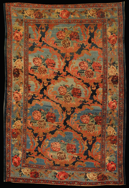 4.3 X 6.3 Antique Persian Bijar