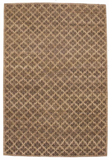 """Modern design Nepalese rug 6'2"""" X 9'1"""""""