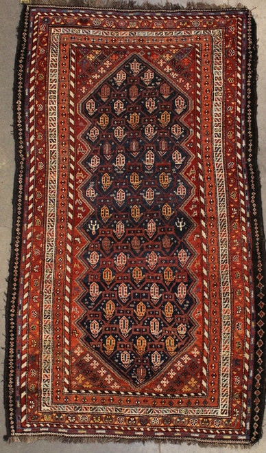 Tribal design rug hand made in Iran