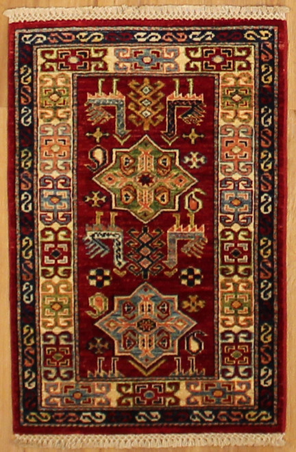 2' X 2'10 Small tribal design rug