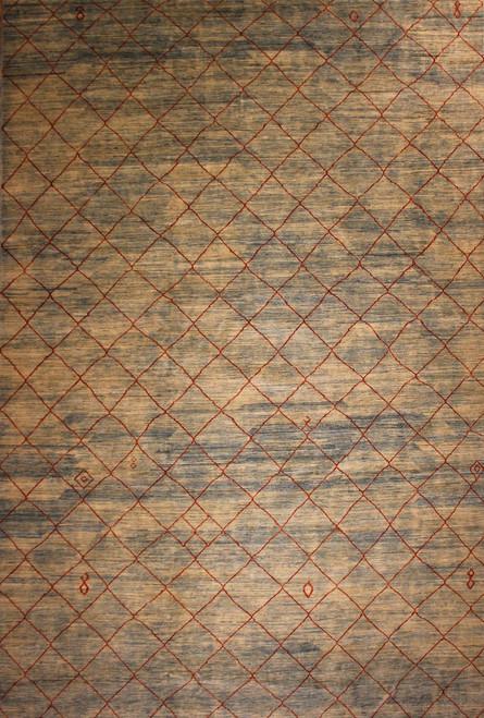9'9 X 14'9 large Modern design rug