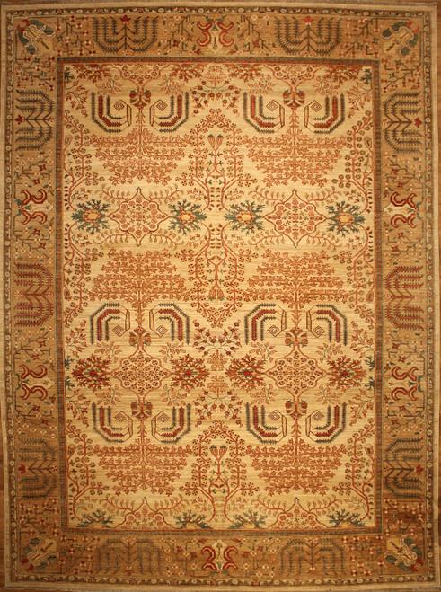 9' X 12' Traditional design rug