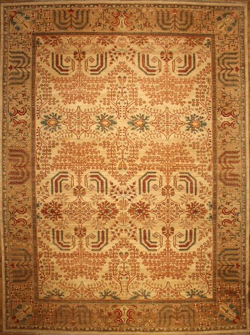 9' X 12' Traditional design rug