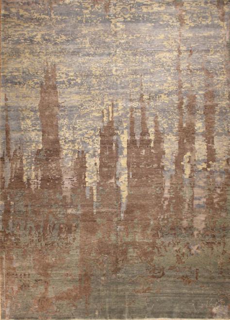 8'6 X 11'9 Modern design rug