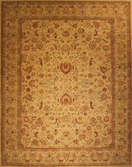 9'3 X 11'10 Traditional design rug