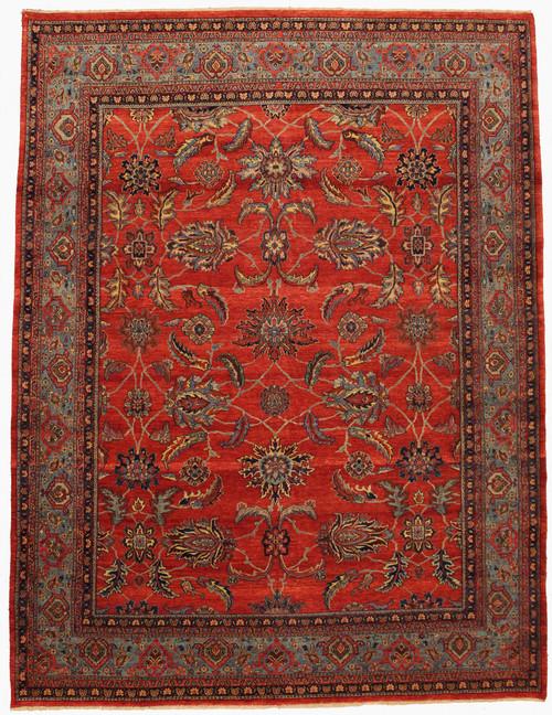 "8'3"" x 10'9"" Handmade Indian Rug"