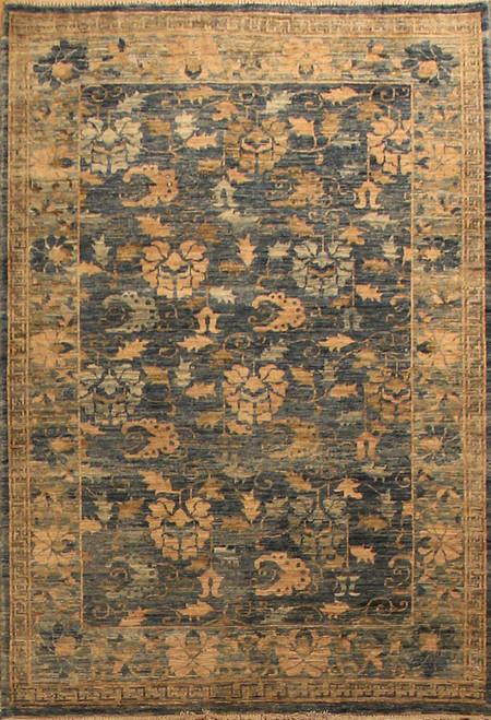 3'11 X 5'11 Transitional design rug