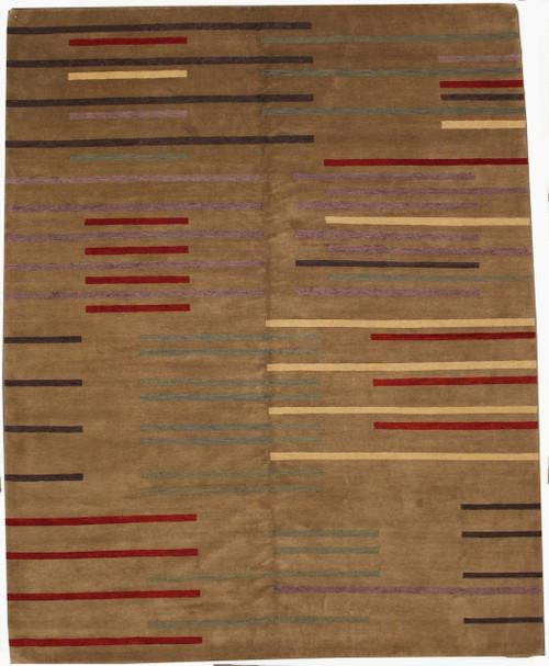contemporary design carpet 8' x 10'