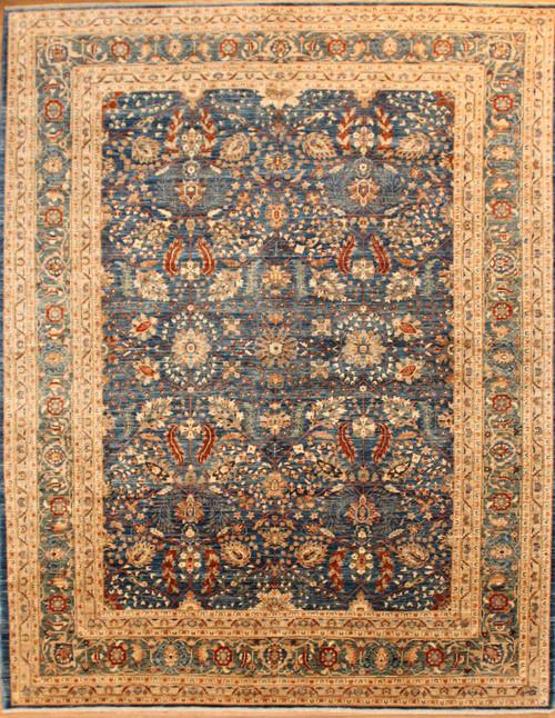 8'3 X 10'9 Medium Blue rug