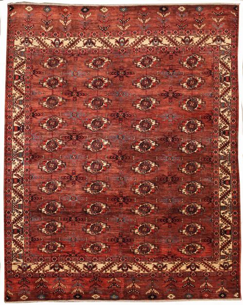 Turkmen design rug 8' x 10'