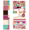 Kaisercraft Bombay Sunset Paper Pack with Bonus Sticker Sheet Card kit (free Rub-ons with each kit) (SDBSKPK560)