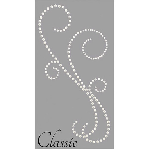 Kaisercraft Pearl Flourish - Classic  style - Pearl White