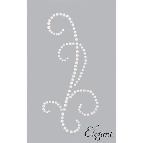 Kaisercraft Pearl Flourish - Elegant style -  Pearl White