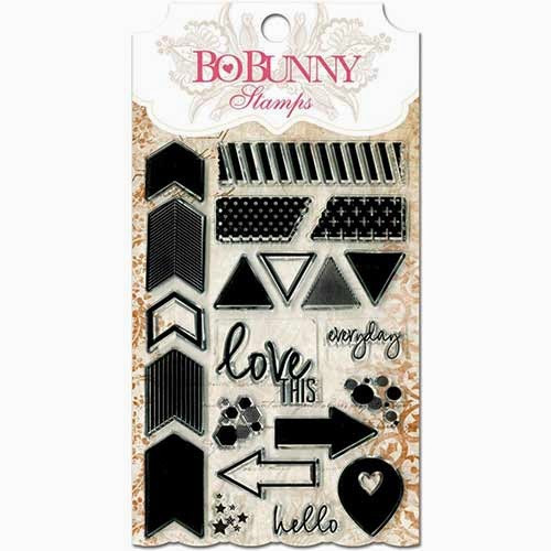 "Bo Bunny - 4x6"" Stamp Sets - To The Point"