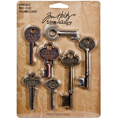 Word Keys - Tim Holtz - Idea-ology Collection