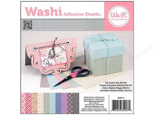 Washi 6 x 6 Sheet Pad - We R Memory Keepers