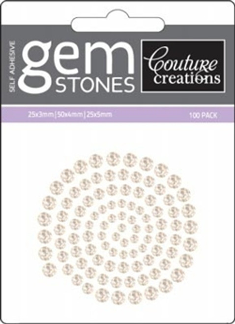 Couture Creations - Self Adhesive Gemstones - Sparkling Champagne
