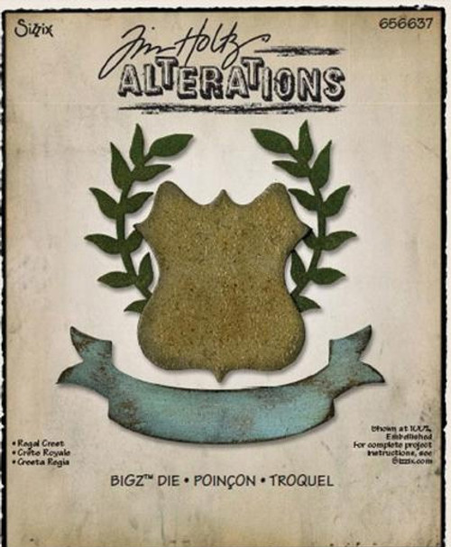 Sizzix - Bigz Dies - Regal Crest by Tim Holtz