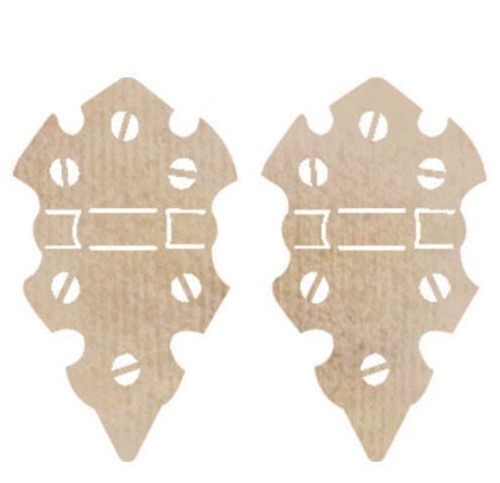 Kaisercraft wooden embellishments - Medium Hinge