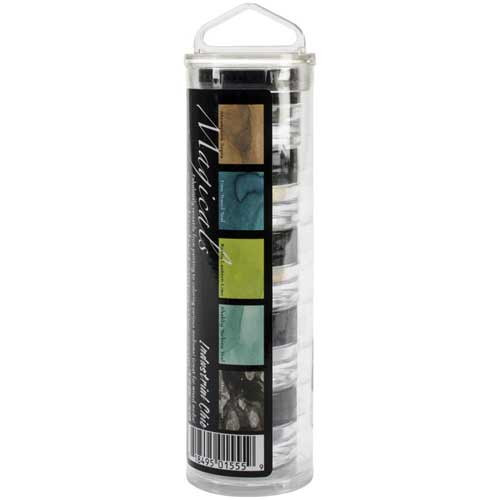 Lindys stamp gang - Magicals Shimmer Powders- Industrial Chic Set (SDMIC01555)