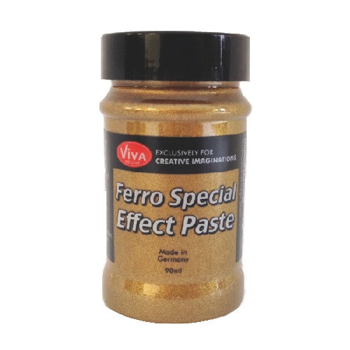Viva Decor - Ferro Special Effect Paste - Amber Gold