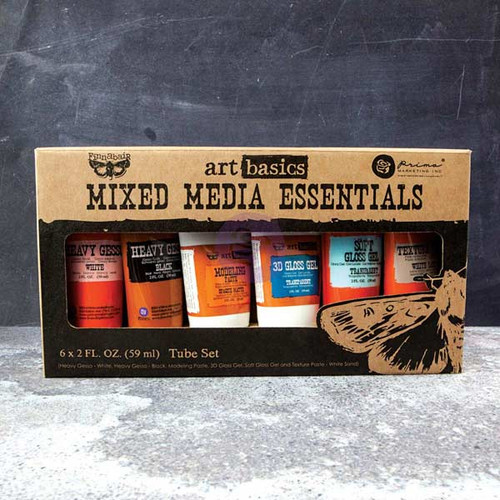 Prima- Finnabair Art Basics: Mixed Media Essentials 6 pack (2 oz tubes) (SD963262)